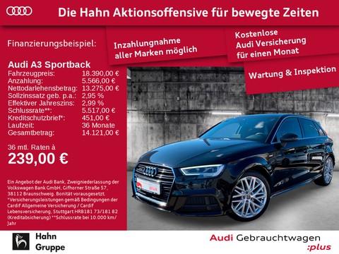 Audi A3 2.0 TDI qu Sportback a S-line Einpark