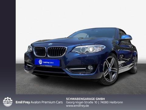 BMW 218 i Cabrio Sport Line