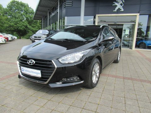 Hyundai i40 1.6 Trend Kombi blue Sitz und