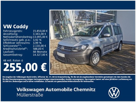 Volkswagen Caddy 1.0 TSI Trendline Heck