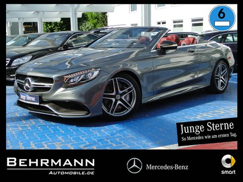 Mercedes S63 Cabrio ° Driver s Package Carbon