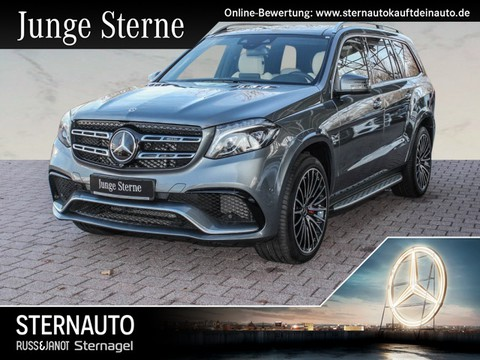 Mercedes GLS 63 AMG Drivers P B O TV