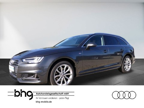Audi A4 2.0 TDI Avant S-Line 18`` Verkehrszeichenerkennung