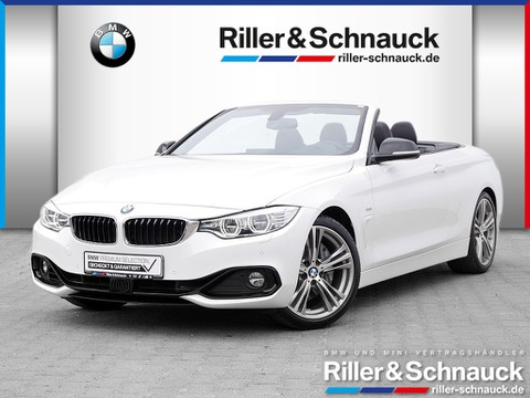 BMW 440 iA Cabrio Sport Line