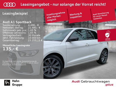 Audi A1 Sportback 30TFSI Advanced