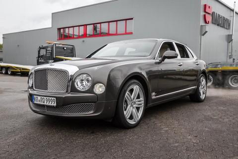 Bentley Mulsanne Premier Entertainment GlasSD FondTV