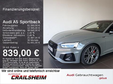 Audi A5 Sportback edition one 45 TFSI quattro