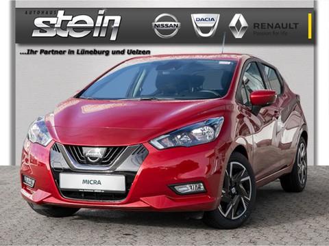 Nissan Micra N-WAY Einparksensoren