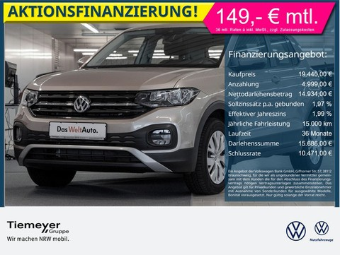 Volkswagen T-Cross 1.0 TSI AppConnect BlindSpot