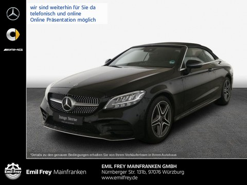Mercedes-Benz C 180 Cabrio AMG Line Apple Android