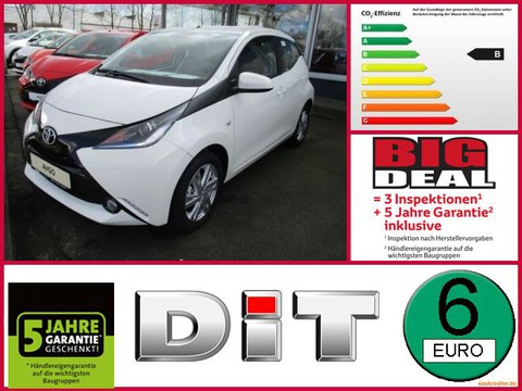 Toyota Aygo 1.0 Team D x-shift Olympia 2018 Edition