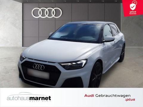 Audi A1 Sportback S line 35 TFSI Optik schwarz