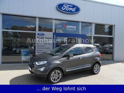 Ford EcoSport Titanium Automatik