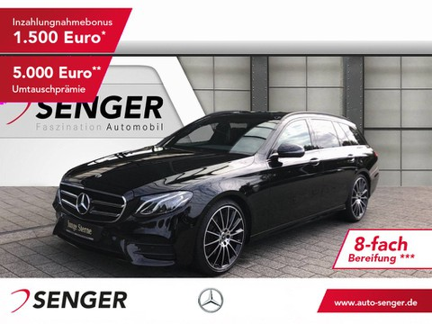 Mercedes-Benz E 200 T d AMG-Styling High-Perf - Night Pake