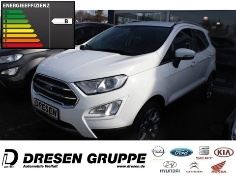 Ford EcoSport 1.0 TitaniumX EcoBoost EU6d-T Winter-Pake