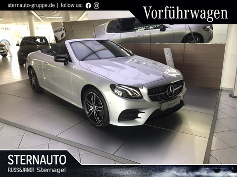 Mercedes-Benz E 220 d Cabrio AMG Line Night-Paket
