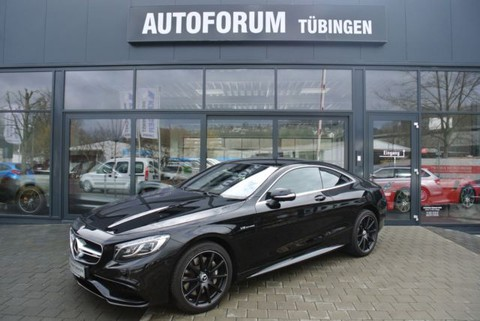 Mercedes S 63 AMG Coupe AMG Drivers P Night P