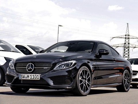Mercedes C 43 AMG Coupe Perf-Abgas