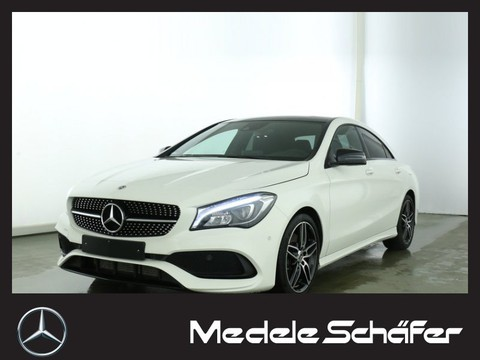 Mercedes CLA 250 Coupe AMG Night PanoramaSD Park