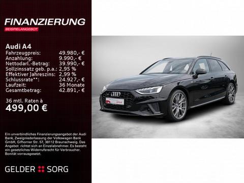 Audi A4 Avant 45 TFSI qu S line
