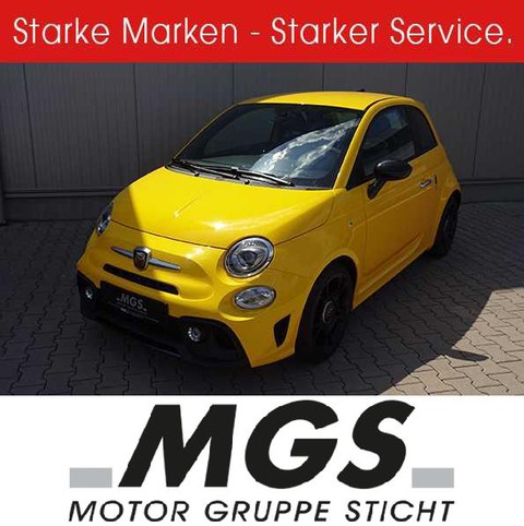 Abarth 595 Pista #BLACK-PAKET #APPLE# ANDROID