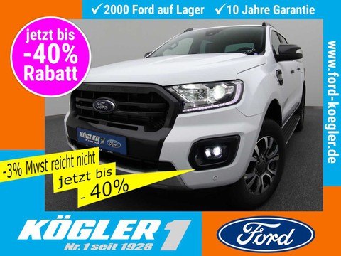 Ford Ranger Doka Wildtrak GT-Streifen