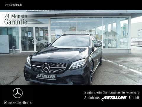 Mercedes-Benz C 220 T d AMG Night ° Distron 18
