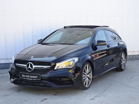 Mercedes CLA 45 SB Night Dynamik Perf Sitze Abgas