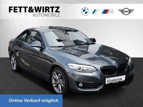 BMW 220 i Coupe Sport HiFi RKamera