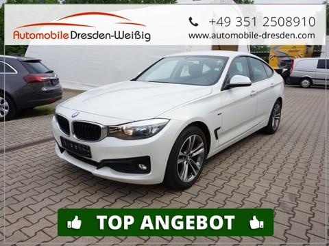 BMW 318 Gran Turismo d Sport el Klappe