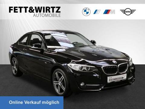 BMW 218 d Coupe Sport Line