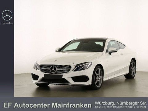 Mercedes C 300 Coupe AMG Spur