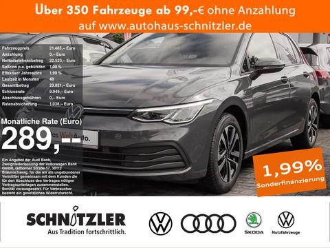 Volkswagen Golf 1.0 TSI 8 United 289 ohne Anzahlung