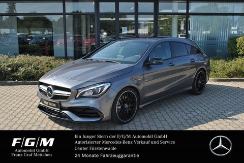 Mercedes-Benz CLA 45 AMG SB COM Night Mem