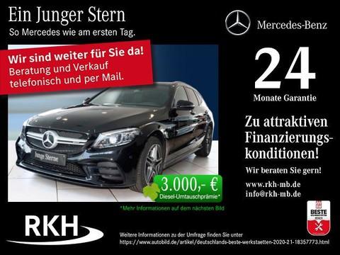 Mercedes-Benz C 43 AMG Mercedes T Night Abgasan