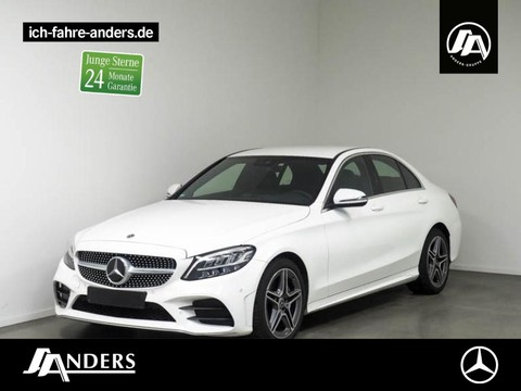 Mercedes-Benz C 200 d AMG Spiegel-P