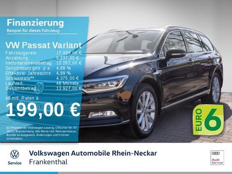 Volkswagen Passat Variant 1.8 TSI Highline Automatik