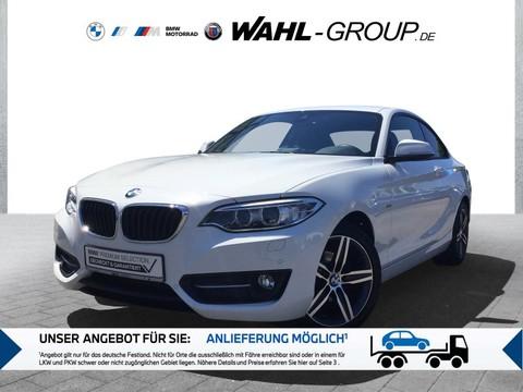 BMW 218 d Coupé Sport Line Komf-Zugang