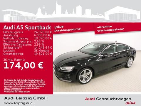 Audi A5 2.0 TFSI Sportback Sportfahrwerk Paket