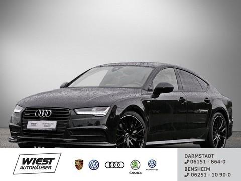 Audi A7 3.0 TDI quattro Sportback Black Edition Business Sitzbel