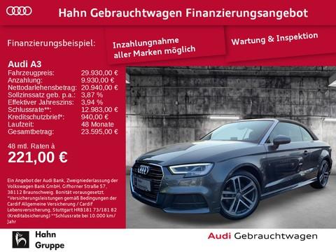 Audi A3 1.4 TFSI Cabriolet sport s-line