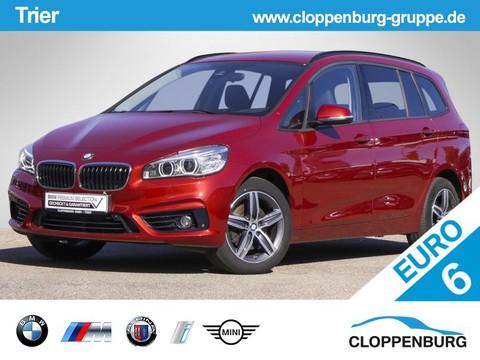 BMW 218 Gran Tourer d Sport Line 3 Sitzreihe