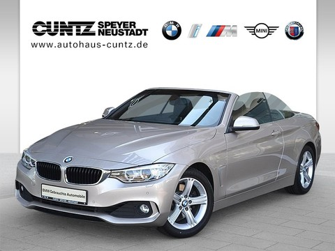 BMW 430 i Cabrio Advantage HiFi Komfortzg