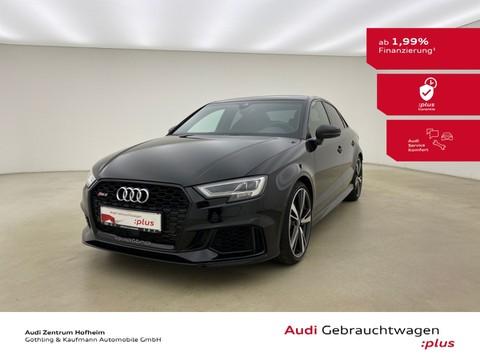 Audi RS3 Limousine 294kW 280 km h Sitze