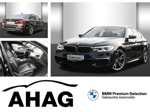 BMW M550 i xDrive Night Vision