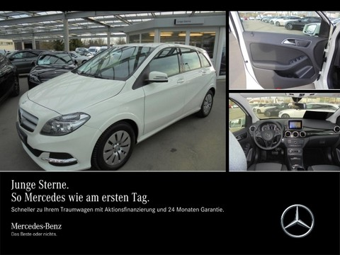 Mercedes B 250 e Electric Drive Tagfahrl