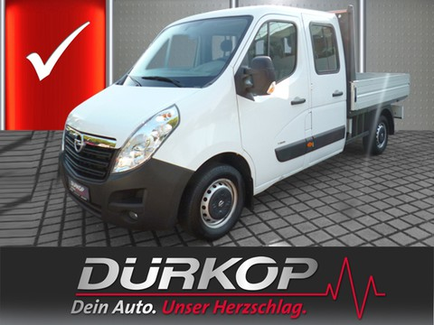 Opel Movano 2.3 B Pritsche Kipper Koffer L2H1 t DoKa 125 3