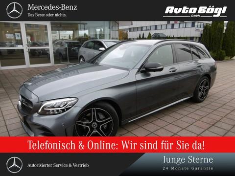 Mercedes-Benz C 180 T 2xAMG Line Night Business Plus Assistenz