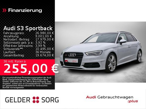 Audi S3 2.0 TFSI qu Sportback S-Sitze