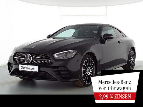 Mercedes-Benz E 400 d Coupé AMG NIGHT DIST MEMO NP90T